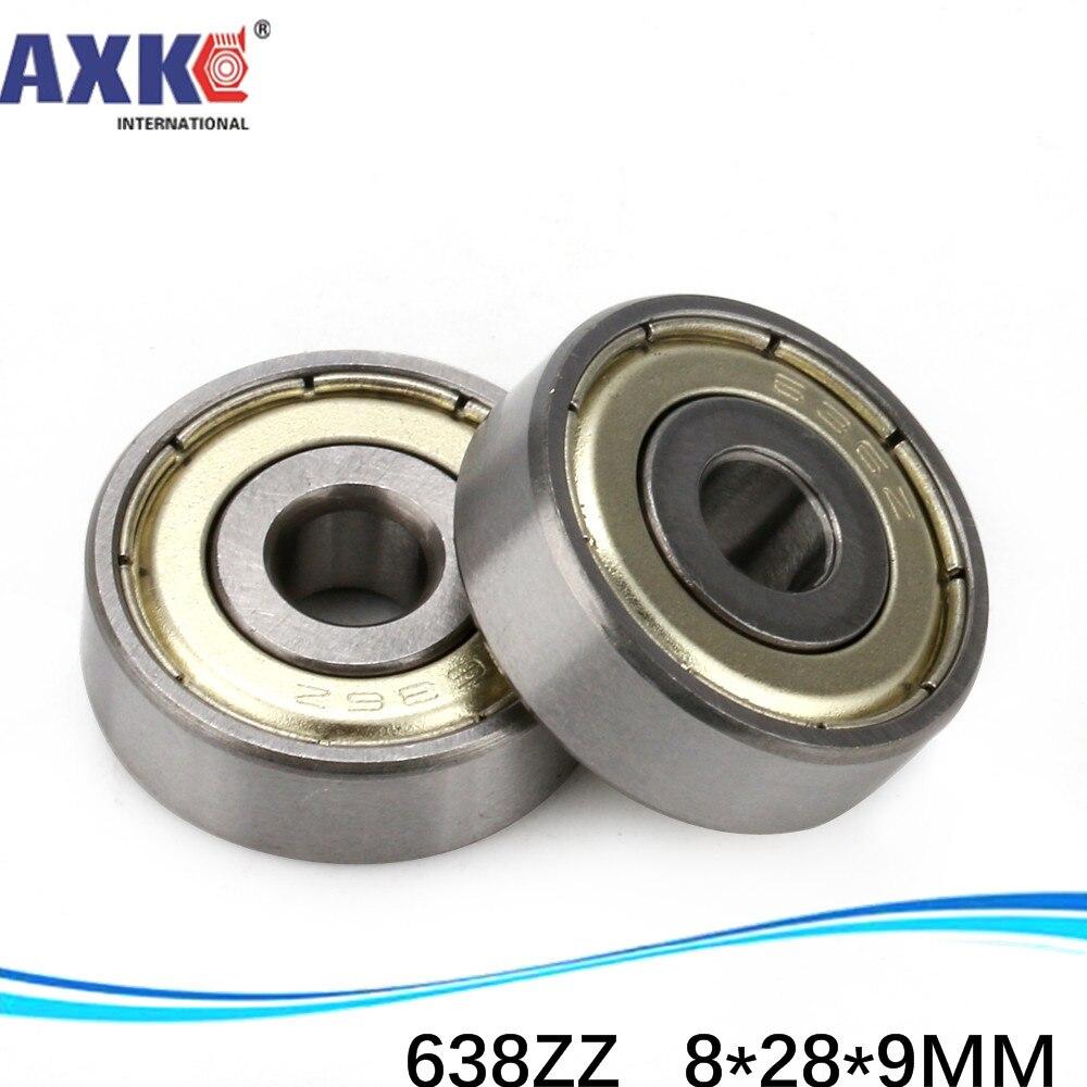 638 638ZZ 638RS 638-2Z 638Z 638-2RS ZZ RS RZ 2RZ  deep groove ball bearing 8x28x9mm miniature bearing 8*28*9
