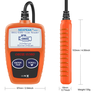 Image 4 - NX201 OBD2 Scanner Code Reader Car MS309 Auto Diagnostic Tool OBD 2 Car  Diagnostic Engine Code Reader Better Then ELM327 OBD