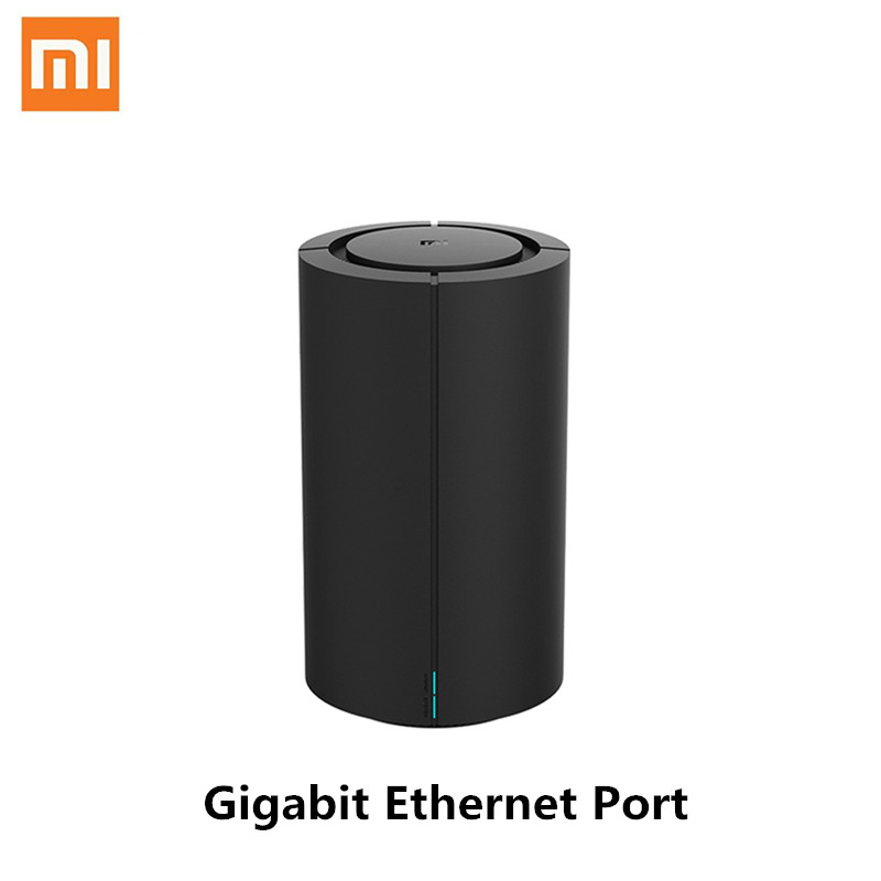 Xiaomi Mi Router AC2100 Gigabit Ethernet Port WiFi 128MB 2.4GHz 5GHz 360° Coverage Dual Core CPU Game Remote APP Control for Mih image