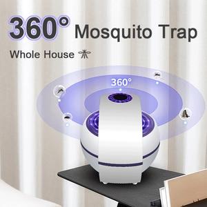 Image 5 - USB מופעל יתושים רוצח מנורת חשמלי אנטי יתושים lampara antimosquitos 360 ° חרקים רוצח קוטל יתושים מלכודת אור