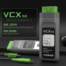 Vxdiag vcx se doip vci 診断 bmw icom A2 A3 パスファインダー & jlr sdd OBD2 車診断ツールランドローバーのためにジャガー