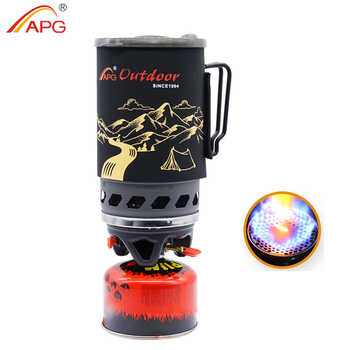APG 1400ml Camping Gas Stove Fires Cooking System and Portable Gas Burners - DISCOUNT ITEM  52% OFF All Category