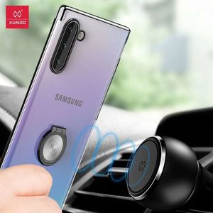 Image 5 - For Samsung Note 10 Plus Case Xundd Luxury Hard Clear PC Case With Ring Holder for Note 10+ for Note 10 Plus 5G