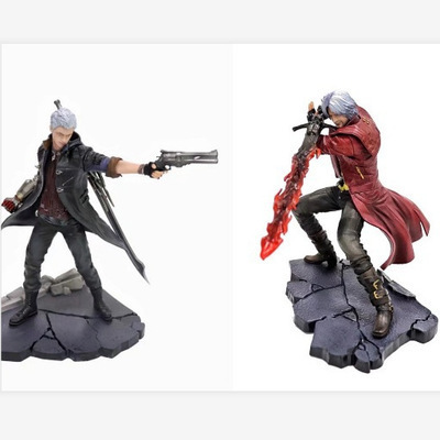 25-28cm Devil May-Cry Dante  Action Figure PVC Collection Model Toys Brinquedos For Christmas Gift
