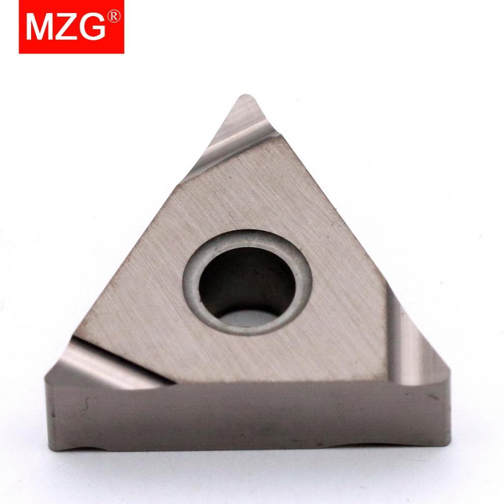 MZG TNGG160402R-S OH26, traitement de finition élevée pour acier, CNC, tour de coupe, alésage, tournage, Inserts en carbure