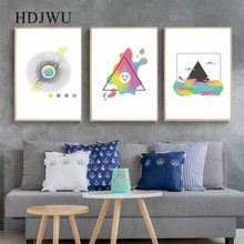 Abstract Creative Art Canvas Painting Wall Picture Home Printing Poster Pictrue for Living Room DJ521