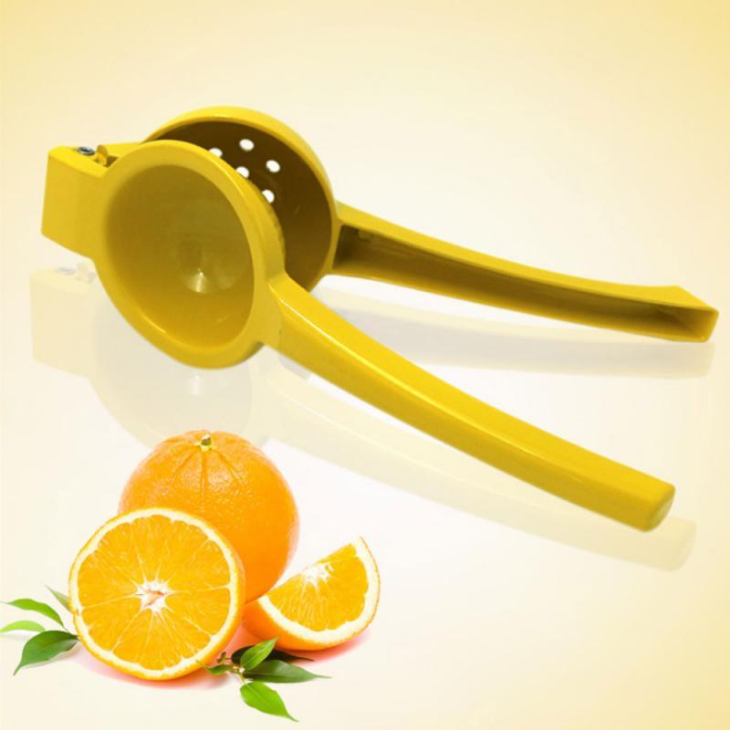 Многофункциональный пресс ручной соковыжималки лимонно-оранжевый соковыжималка для цитрусовых бытовой портативный кухонный инструмент А...