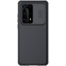 NILLKIN لهواوي P40 برو + غطاء الهاتف حالة ، كاميرا حماية الشريحة حماية غطاء عدسة حماية حالة لهواوي P40 الموالية زائد