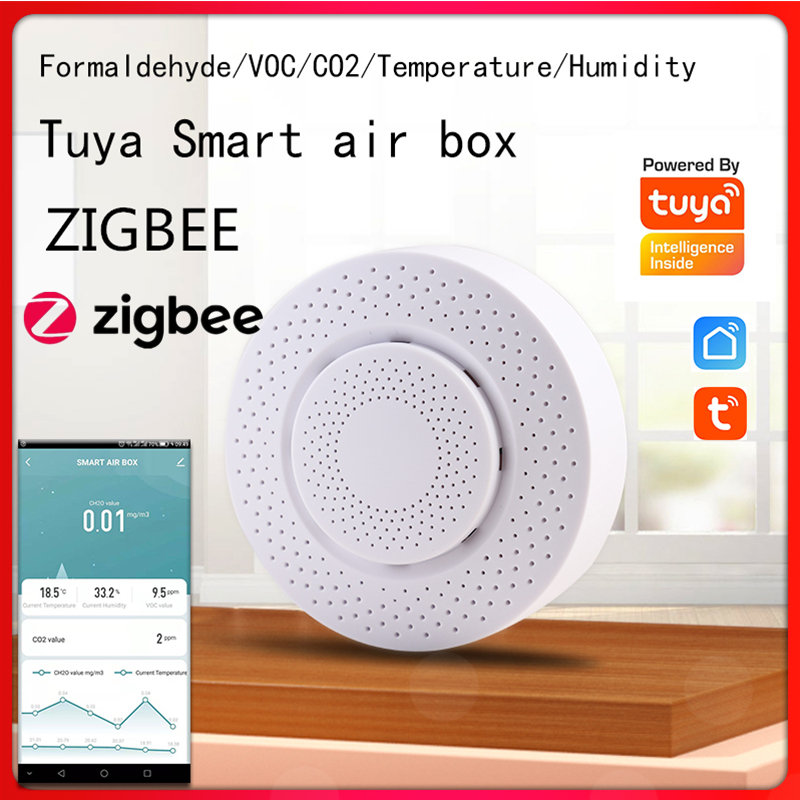 Tuya zigbee 3.0 inteligente caixa de ar