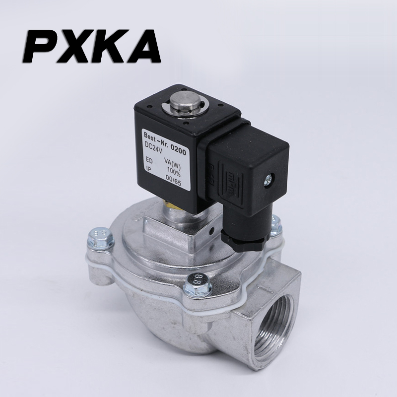 Free shipping Electromagnetic Pulse Valve DMF-Z-25 Bag Filter Diaphragm 20 Injection Valve Right Angle Pneumatic