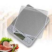Портативные кухонные весы, точные электронные цифровые мини-весы, Карманный чехол, почтовые ювелирные изделия, вес Gram Balanca Food 500 г 3 кг