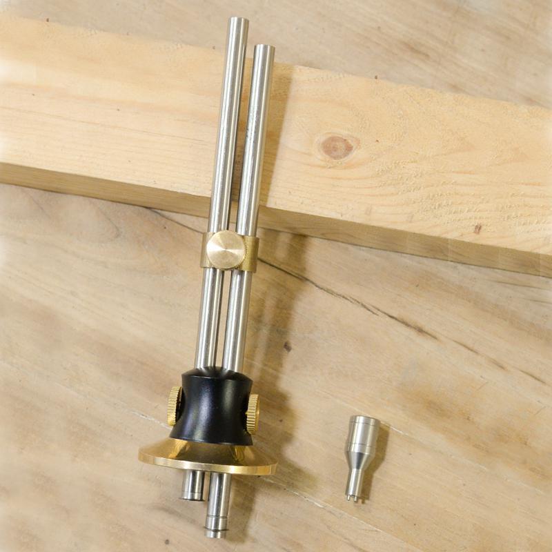 Tool MeterMall Gauge Scribe Woodworking Wood Marking Marking Dovetail Wheel Marker