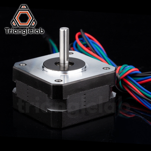 Image 2 - Trianglelab titan Stepper Motor 4 lead Nema 17 23mm 42 motor 3D printer extruder for J head bowden reprap mk8