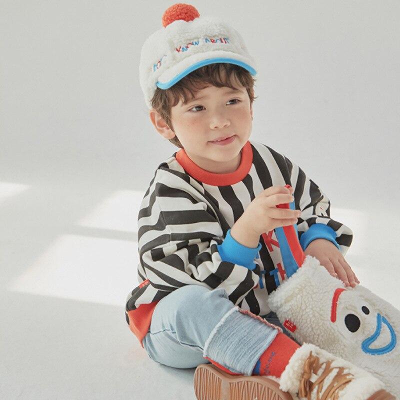 RJ Korea Brand 2021 New Winter Boys Coats Kids Jackets for Girls Cartoon Caca Fur Thick Warm Children Clothes Baby Outwear 4