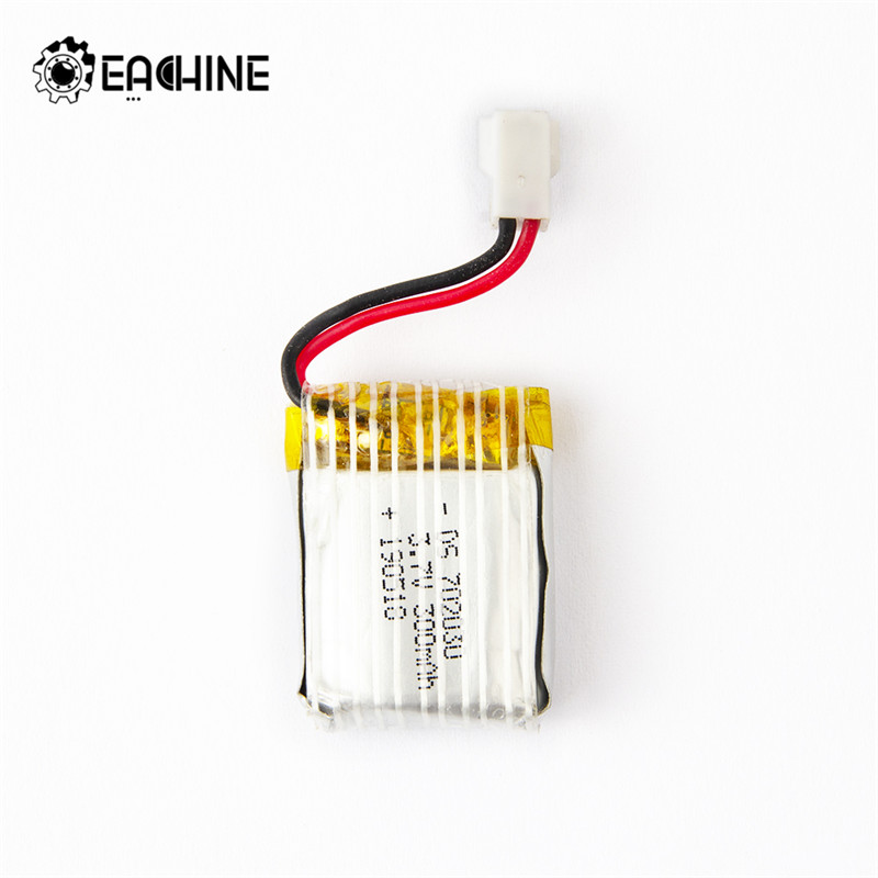Orginal Eachine E111 1/3/5pcs <font><b>3.7V</b></font> <font><b>300mAh</b></font> <font><b>Lipo</b></font> <font><b>Battery</b></font> RC Drone Quadcopter Spare Parts image