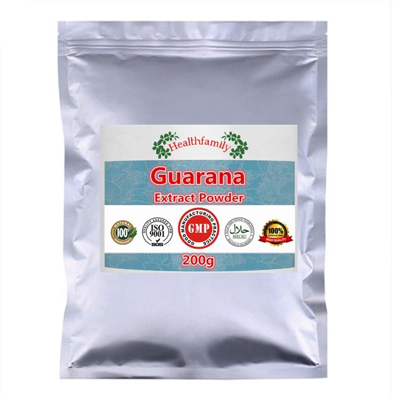 100g-1000g Origin Guarana Extract Powder,Improve Memory,Energy Boost,Enhance The Compressive Capacity And Confidence