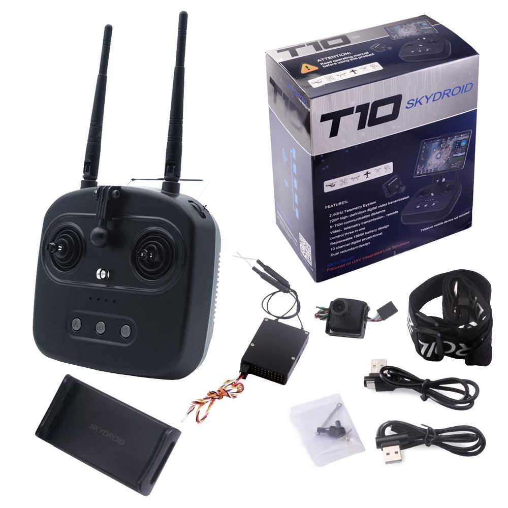 Skydroid T10 リモコンとミニカメラ/10 キロデジタル地図伝送 4 オールインワン植物保護