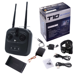 Skydroid T10 Remote Control With Mini Camera/10km Digital Map Transmission four-in-one plant protection(China)