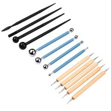 Vaorwne 10 Piece Dotting Tools Ball Styluses for Mandala Painting Embossing Art Pottery Clay Craft