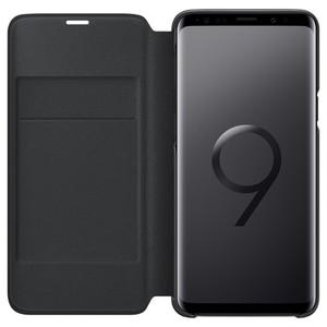 Image 2 - Chính Hãng SAMSUNG Bao Da LED Flip Cover Bao Da LED View Cover Etui Dành Cho Samsung Galaxy SAMSUNG Galaxy S9 G9600 S9 + S9 plus S9Plus G9650