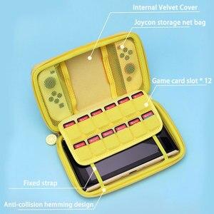 Image 3 - 닌텐도 스위치 레몬 가방에 대 한 휴대용 케이스 가방 닌텐도 스위치 게임 콘솔 액세서리에 대 한 EVA 하드 커버 셸 NS 스토리지 박스