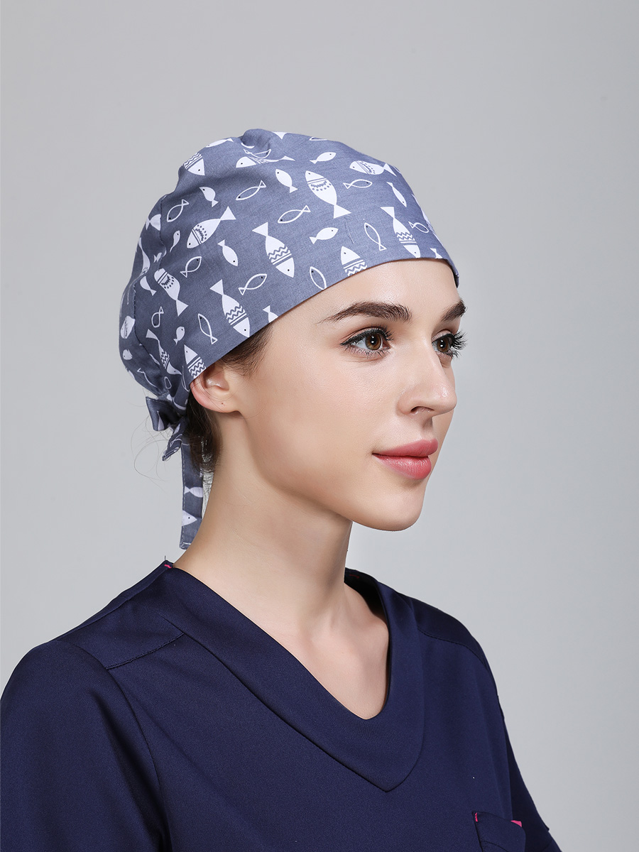 Operating Cap Female Cotton Thin skinned Xia Male Stomatological Surgeon 39 s Cap Permeable Operating Room Prints Cute Nurse 39 s Cap in Women 39 s Skullies amp Beanies from Apparel Accessories