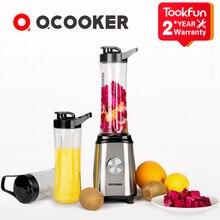 QCOOKER licuadora eléctrica portátil para frutas, verduras, CD BL01, máquina de cocina, exprimidor, procesador de alimentos, seguro