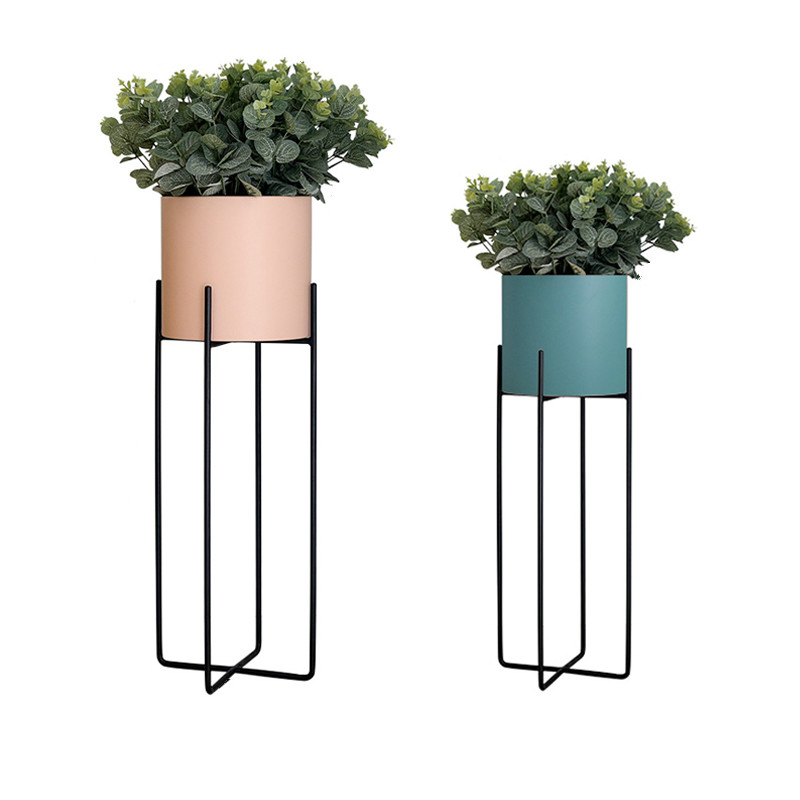 Art Green Flower Rack A Living Room Decorate Balcony Flower Airs Simplicity Modern Indoor Botany Ground Flowerpot Frame
