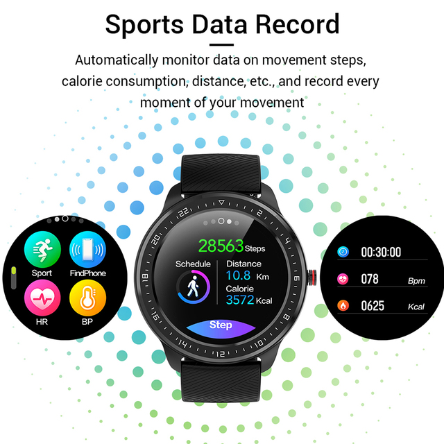 Smartwatch With Indoor And Outdoor Sport Modes