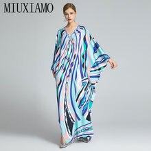 Miuximao 2021 в богемном стиле размера плюс платье с v образной