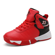 Outdoor Sports Kids Sneakers High Quality Boys Basketball Shoes