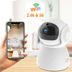 wdskivi 2.4G/5G wifi Camera ip camera HD Mini  Indoor 1080p home security Surveillance CCTV ptz Two Way Audio smart Baby Monitor