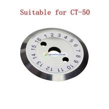 شحن مجاني الألياف البصرية الساطور CT 50 CT50 استبدال شفرة CB 08 الساطور شفرة ل CT50/ CT 50 البصرية الألياف الساطور
