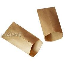 6x10cm cookie taschen 100pc Kraft Papier tasche mini Umschlag Geschenk Taschen Süßigkeiten Taschen Snack Back Paket liefert Geschenk Wrap kleber box