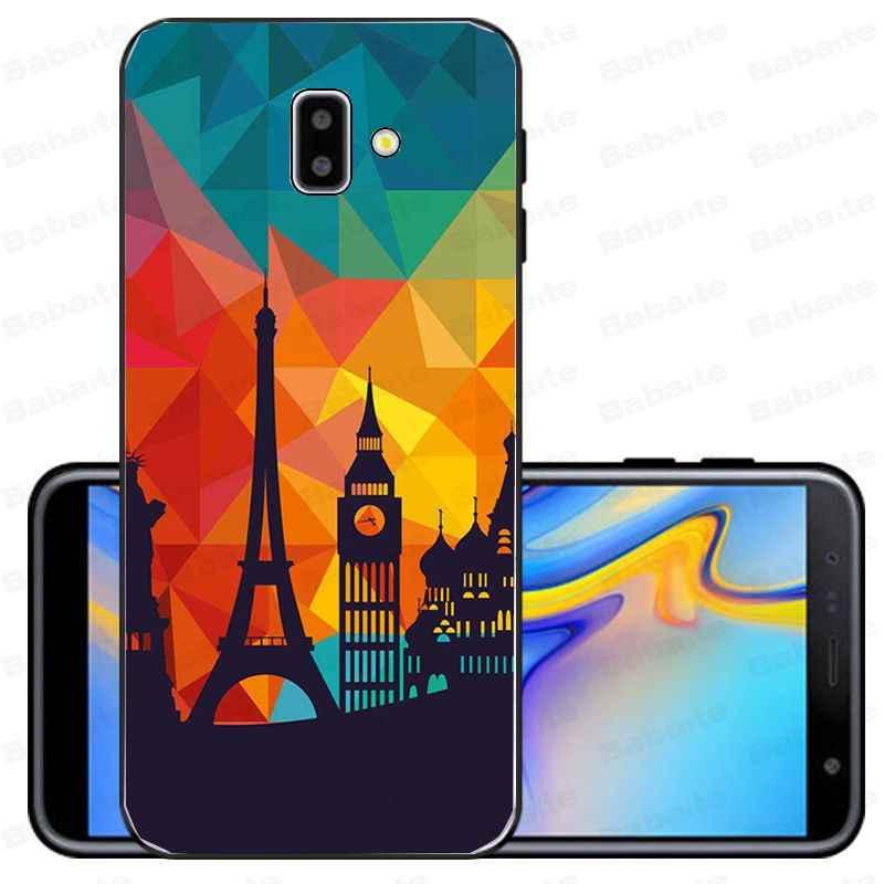 Cover Voor Galaxy J62018 Frankrijk Parijs De Eiffeltoren Coque Telefoon Case Voor Samsung Galaxy J6 Plus A6 A8 A9 a10 A30 A50 Cover