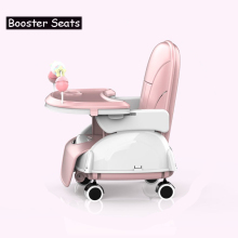 Folding Baby Highchair Kids Chair Dinning High Chair for Children Feeding Baby Table and Chair for Babies Toddler Booster Seat