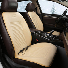 Car heating cushion winter car electric seat mat with short plush 12V universal