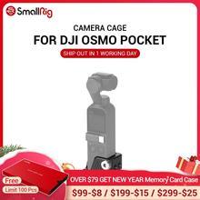 """Cage Osmo pour poche DJI Osmo avec trous filetés 3/8 """" 16 et neuf 1/4"""" 20 pour fixation de trépied de caméra CSD2321"""