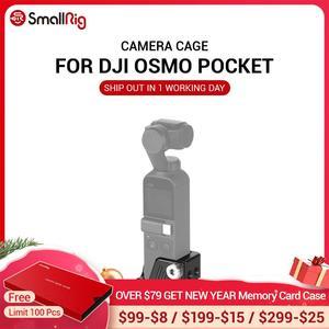"""Image 1 - Cage Osmo pour poche DJI Osmo avec trous filetés 3/8 """" 16 et neuf 1/4"""" 20 pour fixation de trépied de caméra CSD2321"""