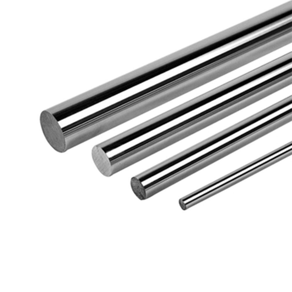 2 stücke 6mm 8mm 10mm 12mm 16mm 8 400mm linear welle 3d drucker teile zylinder Verchromt Liner Stangen achse