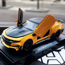 Camaro 1/32 Scale Sport Car Model Diecast Vehicle Toys Hot Simulation Cars Wheels Fast Alloy Auto And Furious Toy For Boys