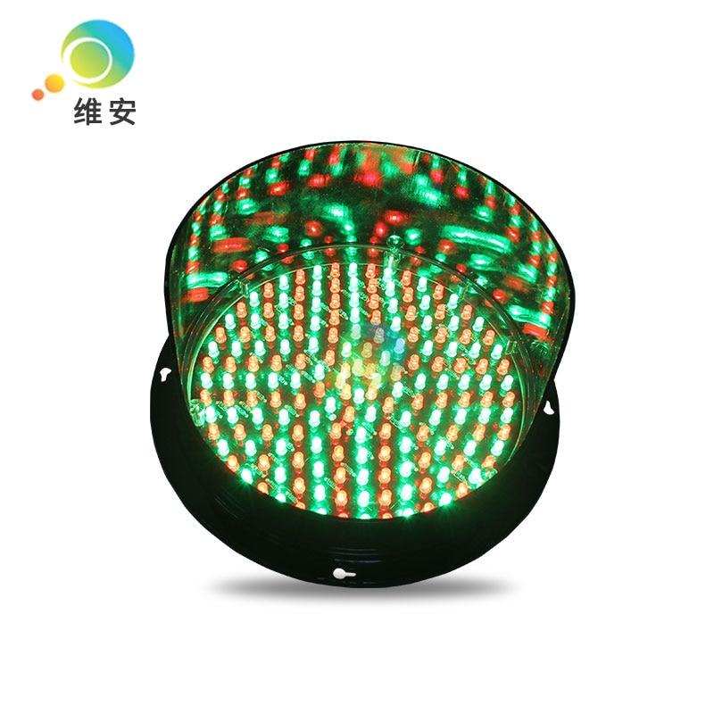 DC24V Factory Direct Price 200mm Diameter High Brightness Mix Red Green LED Traffic Light Parts