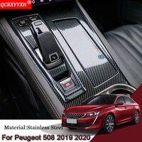 Venta https://ae01.alicdn.com/kf/H8351c659d9cc49de8382f87160102091X/Carbono estilizado para el coche para Peugeot 508 2019 presente cubierta de panel de caja de.jpg