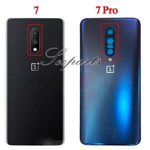 Image 2 - Originele Case Voor Oneplus 7 Pro Batterij Cover Terug Achterklep Behuizing Vervangende Onderdelen Voor Oneplus 7 Pro Terug behuizing