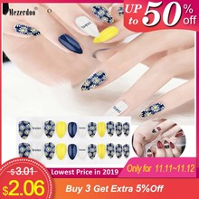 24 Pcs/Set False Nails Full Cover Artificial Fake Nails Press On Tips Painted Design Stickers Short Art Tips with Color Cute Red