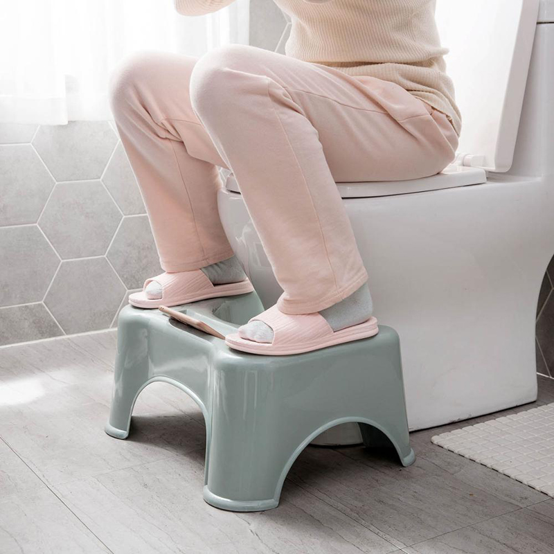 2020 Squatting Toilet Stool Non-Slip Squatty Potty Foldable Bathroom Step Anti Constipation Squat Aid Kid Fold Foodstool