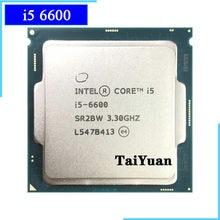 Процессор Intel Core i5-6600 i5 6600 3,3 ГГц SR2BW/SR2L5 четырехъядерный процессор 6M 65W LGA 1151
