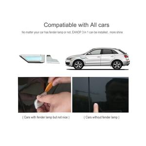 Image 5 - EANOP 자동차 범용 led 라이트 3in1 12V 자동 펜더 램프 러닝 턴 신호 주차 라이트 블루/옐로우/화이트 컬러