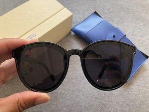 Image 2 - 2020 czarne okulary przeciwsłoneczne damskie Peter Korea delikatne okulary przeciwsłoneczne Monster Star okulary przeciwsłoneczne Fashion Lady Vintage okulary przeciwsłoneczne oryginalny pakiet
