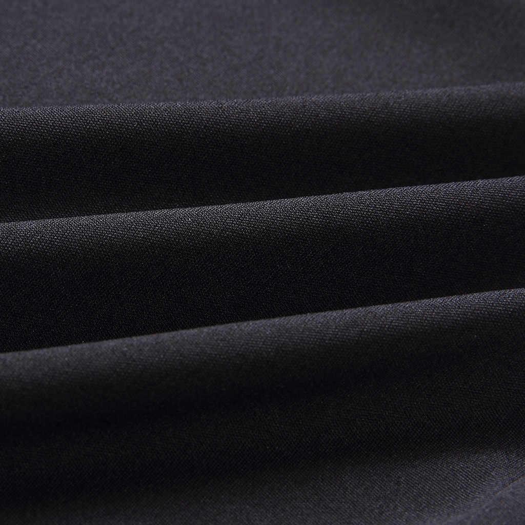Женский комбинезон с карманами и кружевом, v-образный вырез, без рукавов, однотонные длинные леггинсы, комбинезон, повседневный комбинезон, Черный Модный комбинезон